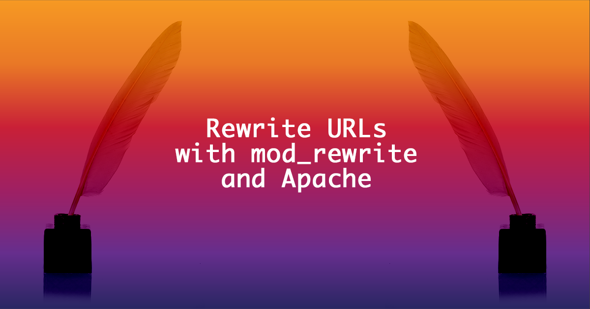 setting up mod_rewrite